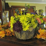 How to Make a Thanksgiving Centerpiece from a Walmart Bouquet
