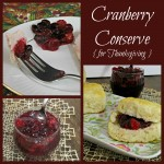 Cranberry Conserve ~ A Canning for Thanksgiving Recipe
