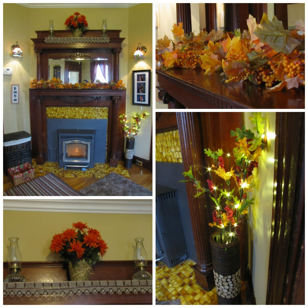 Fall Mantle Collage