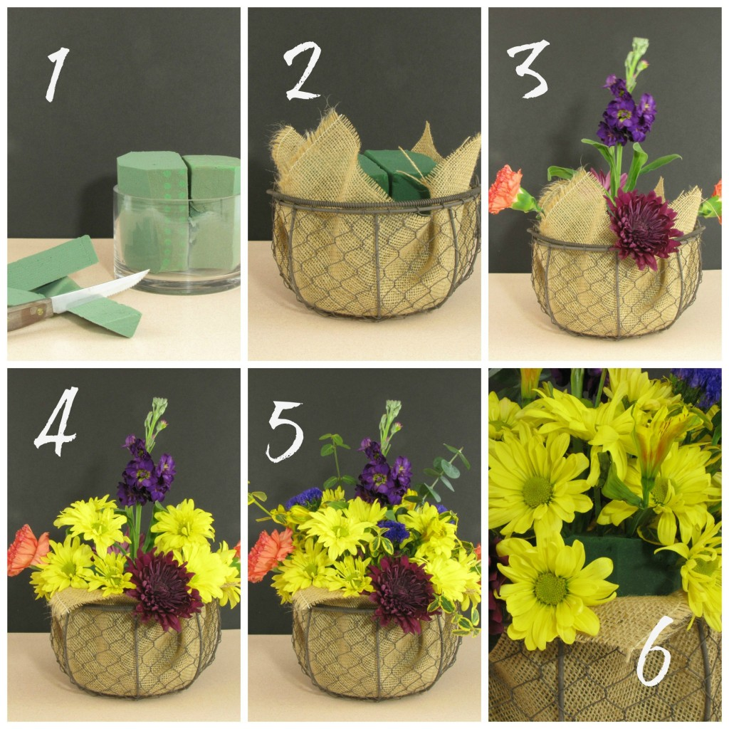 How to do flower arrangements