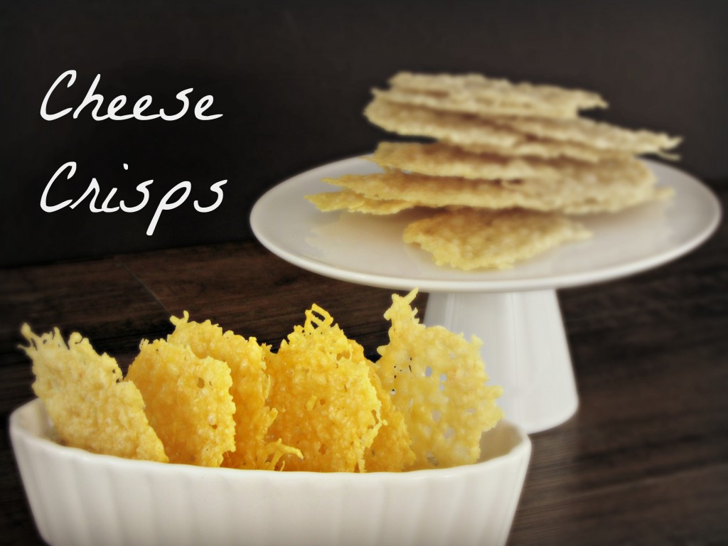 Cheese Crisps ~ Gluten Free, Low Carb & Paleo! - Frugal Upstate