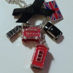 English Charm Necklace pre Tardis Revamp