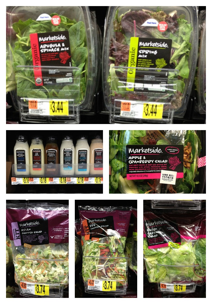 Marketside Salads from Walmart