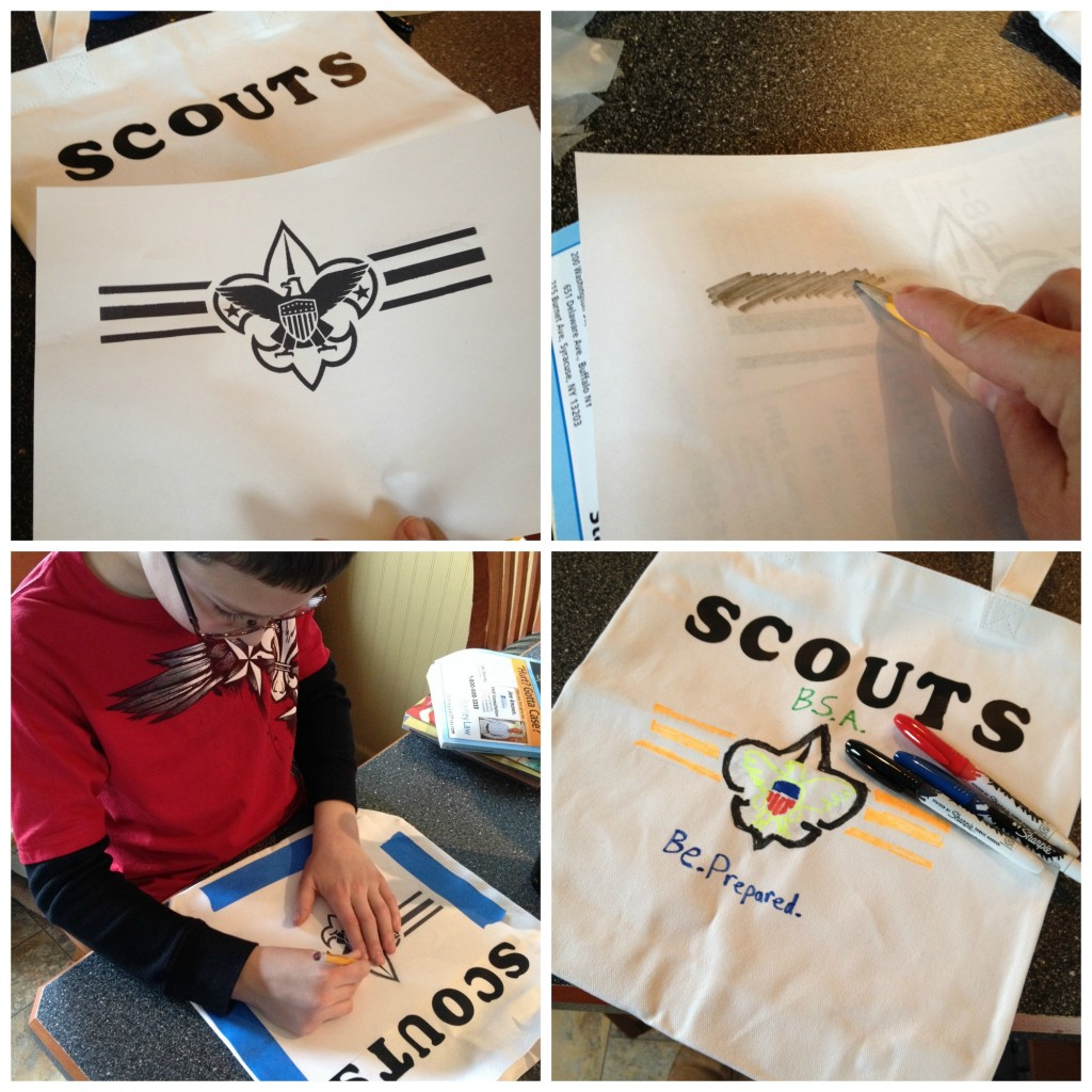 Buddy's Scout Activity Bag how to