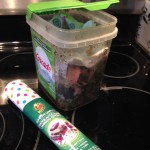 Quick Tip:  Recycled Compost Bucket