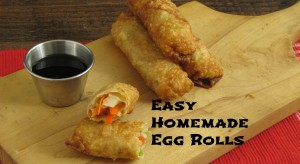Easy Homemade Eggroll Recipe