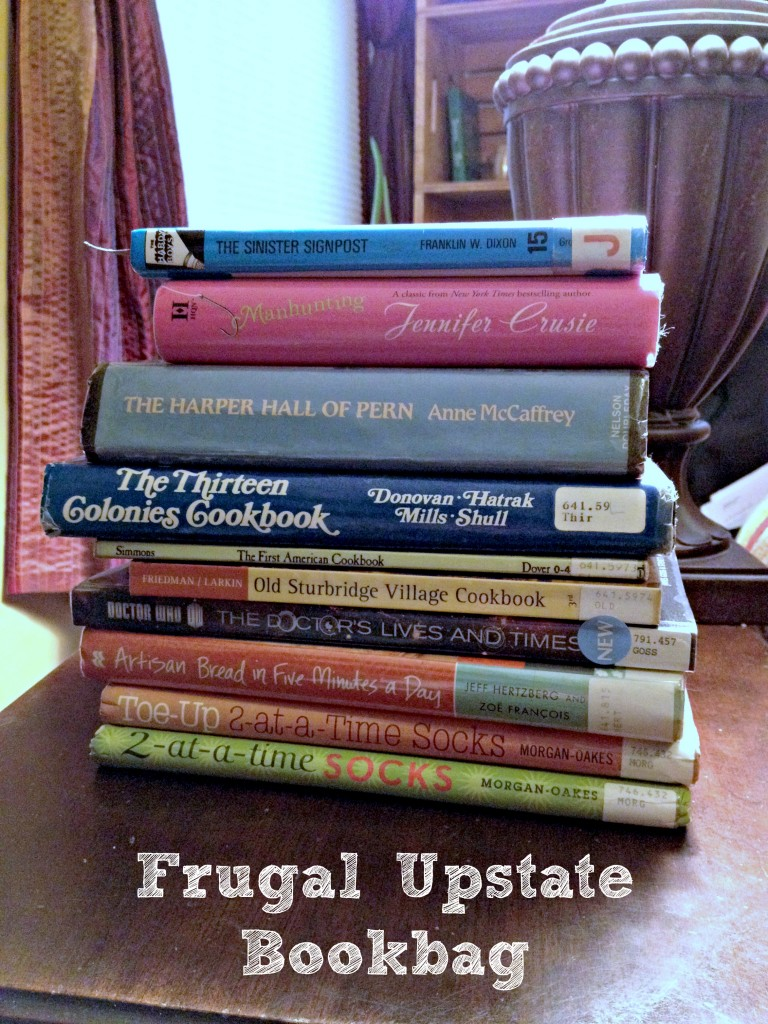 Frugal Upstate Bookbag 3-18-14