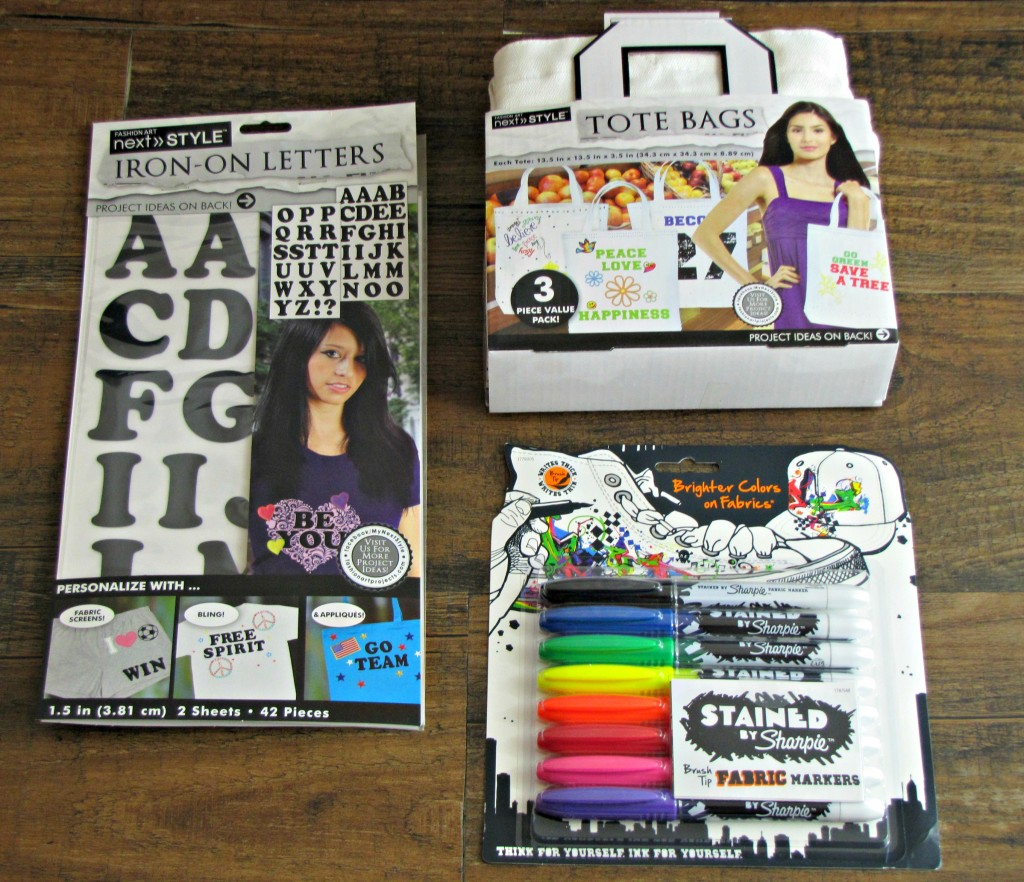 Materials for Personalized Activity Bags