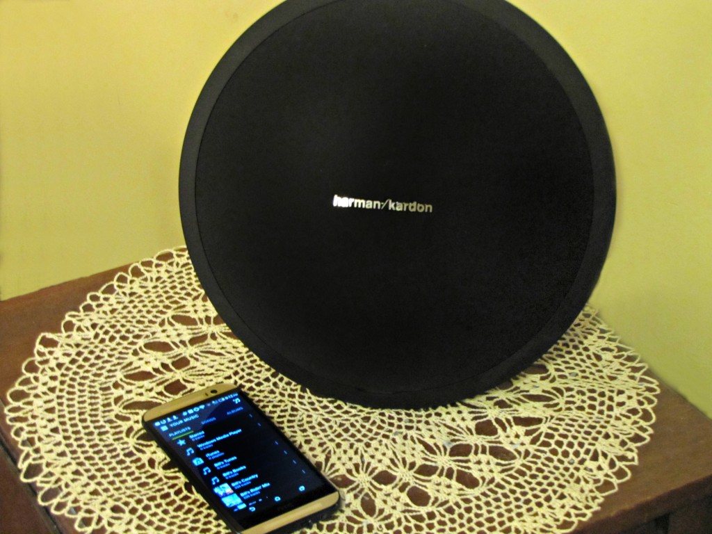 Harman Kardon Onyx Bluetooth Speaker and HTC One Harman Kardon Edition