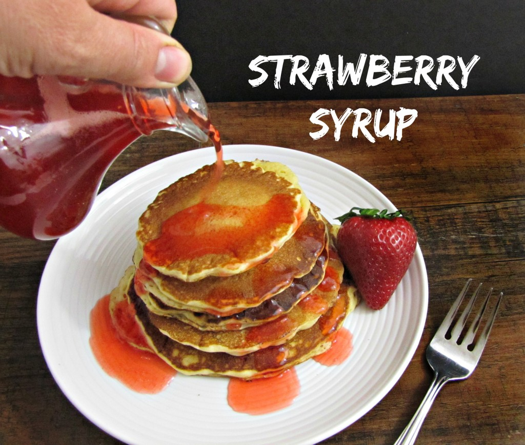 Strawberry Syrup Recipe for Pancakes