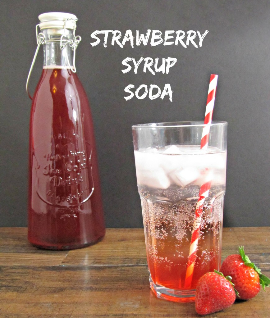 Strawberry Syurp Soda