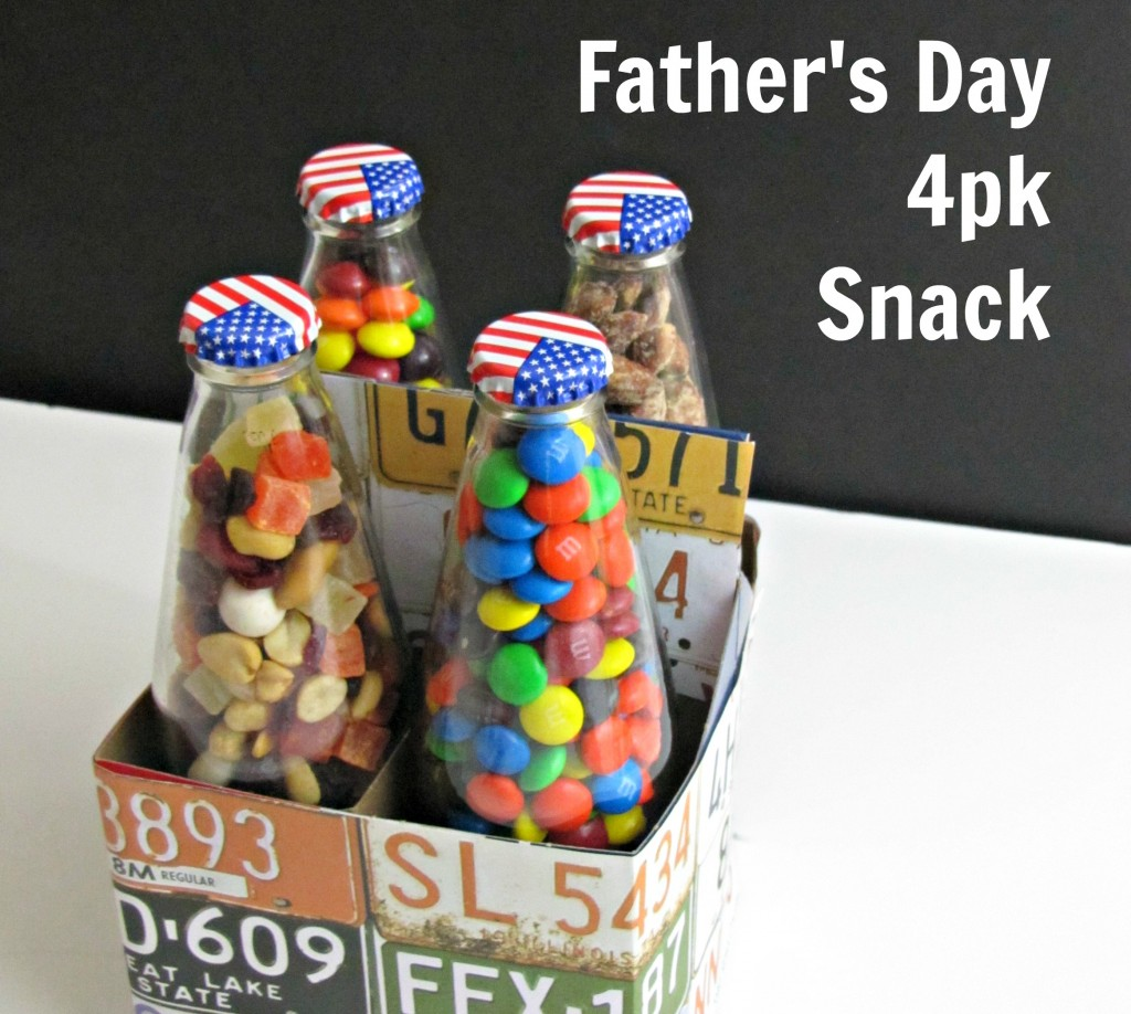 Father's Day 4 pk Snack