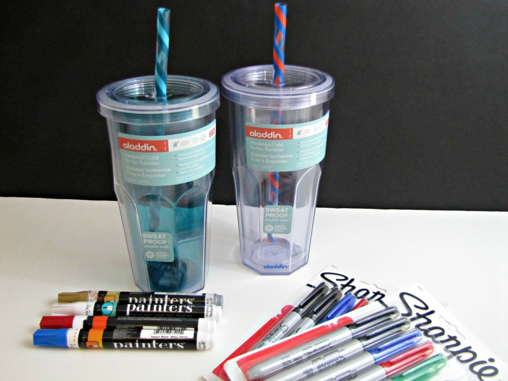 Materials for Cup of Sharpies Teacher Gift