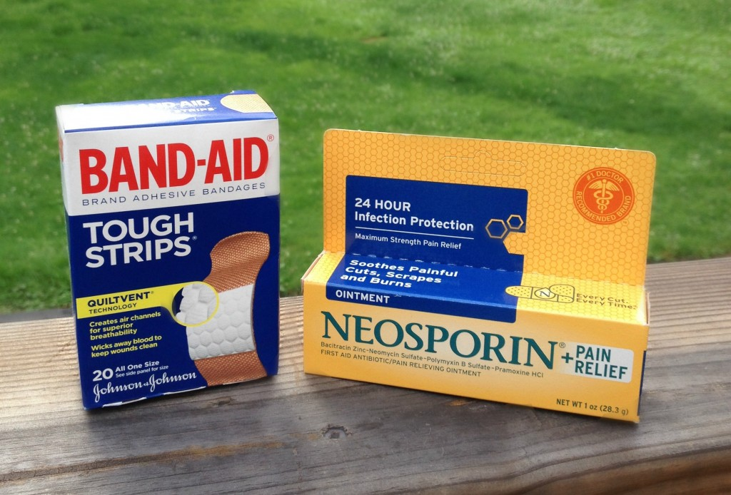 Healthy Essentials for Summer -- help with cuts and bruises