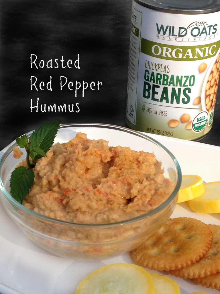 Roasted Red Pepper Hummus (with Wild Oats Organic Chick Peas)