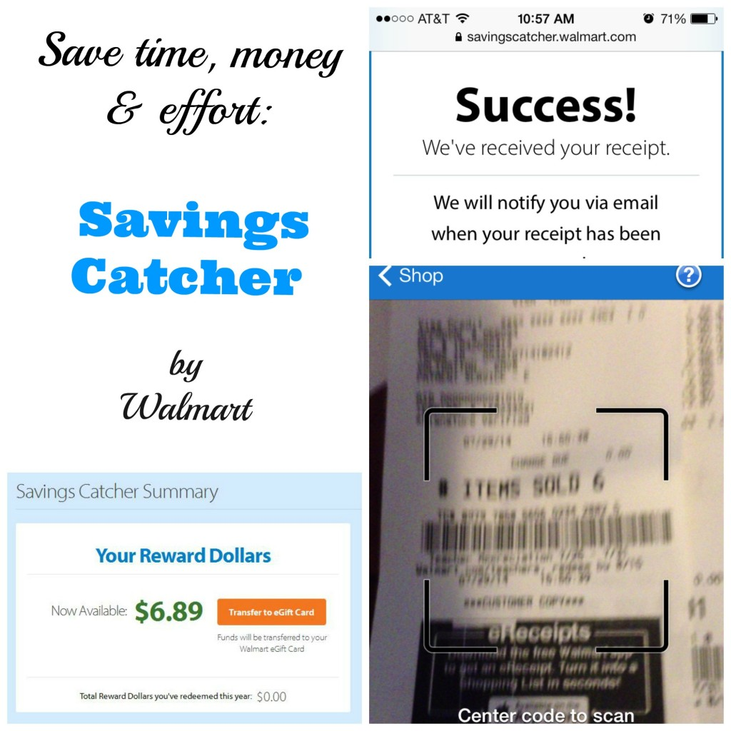 Money and effort with walmart s savings catcher frugal upstate