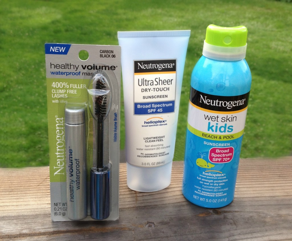 Summer Essentials for the lake or poolside by Johnson and Johnson