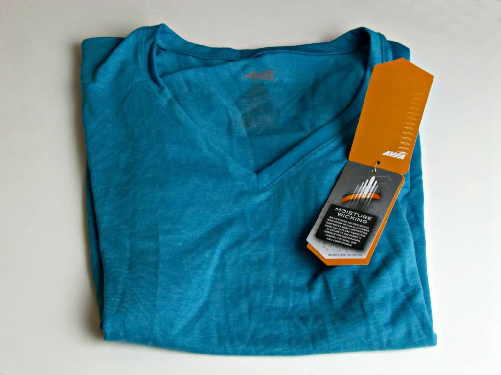 Avia T Shirt with Moisture Wicking from Walmart