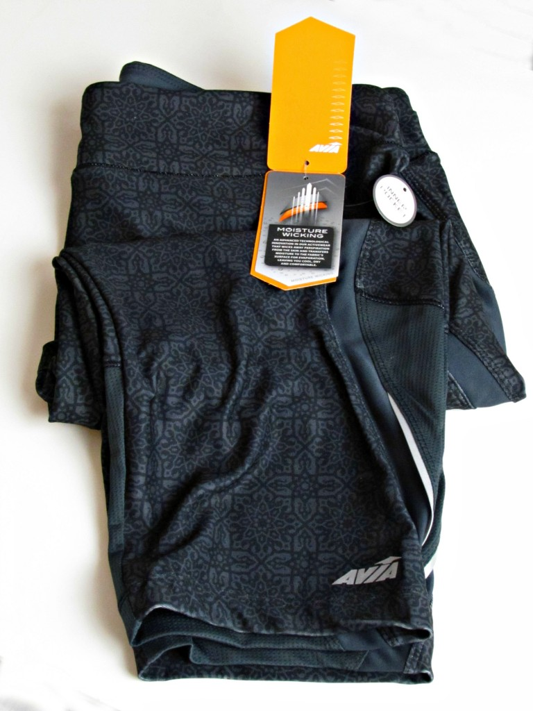Avia Workout Capris with Moisture Wicking at Walmart