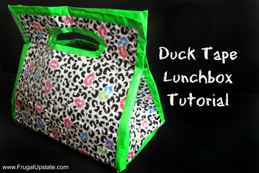 Duck Tape Lunchbox Tutorial