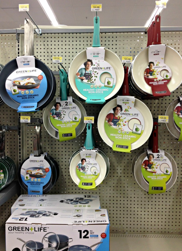 Green Life Ceramic Non Stick Pans at Walmart