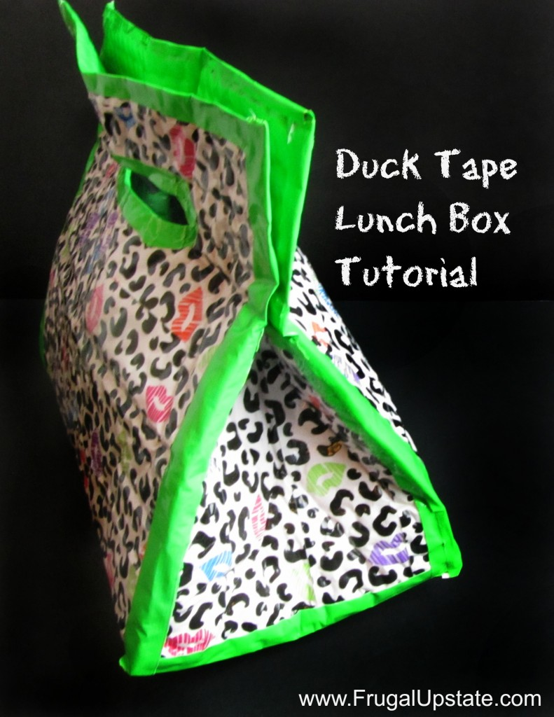 How To Make a Duck Tape Lunch Box