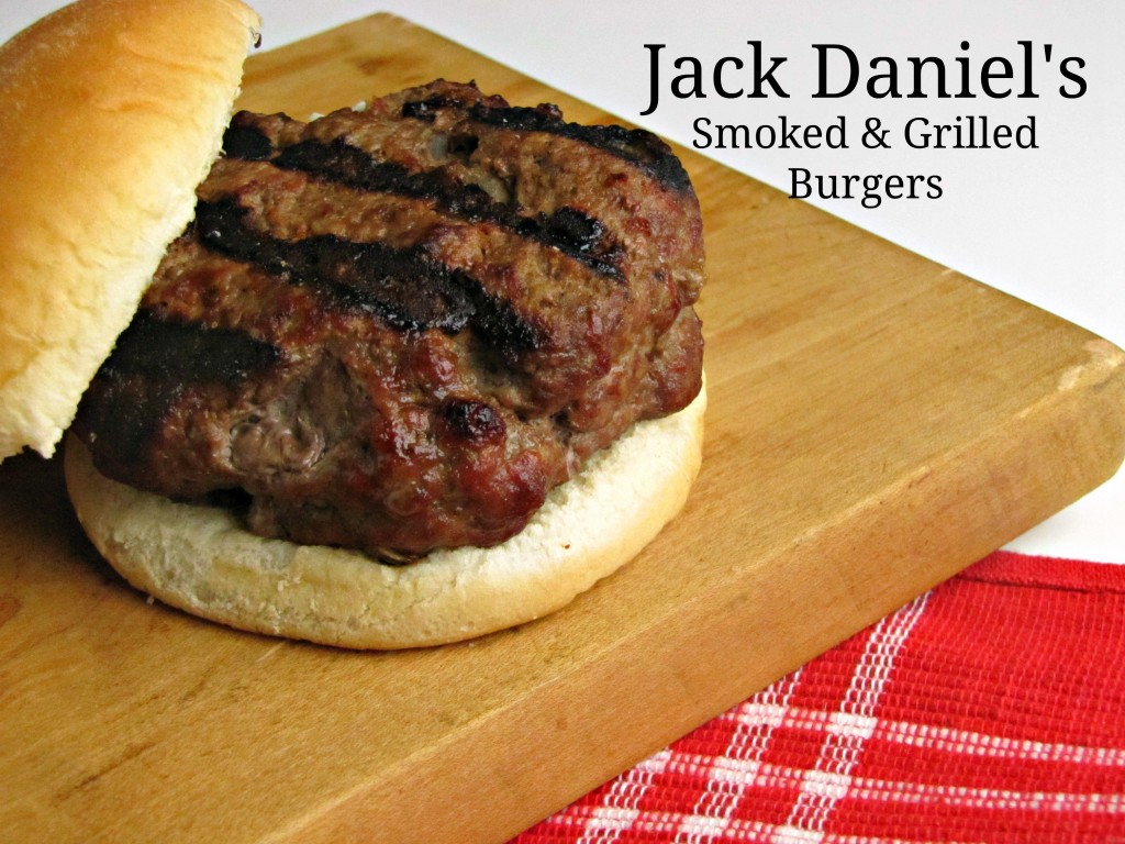 Jack Daniel's Smoked and Grilled Burgers
