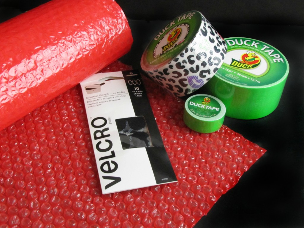 Materials for Duck Tape Lunchbox