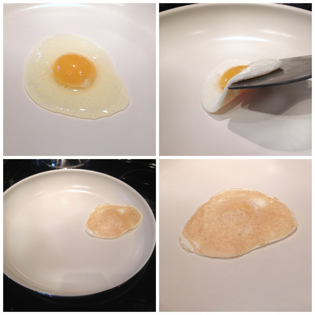 No oil -- frying an egg in the Green Life ceramic nonstick pan