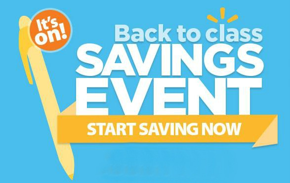 Savings Event at Walmart