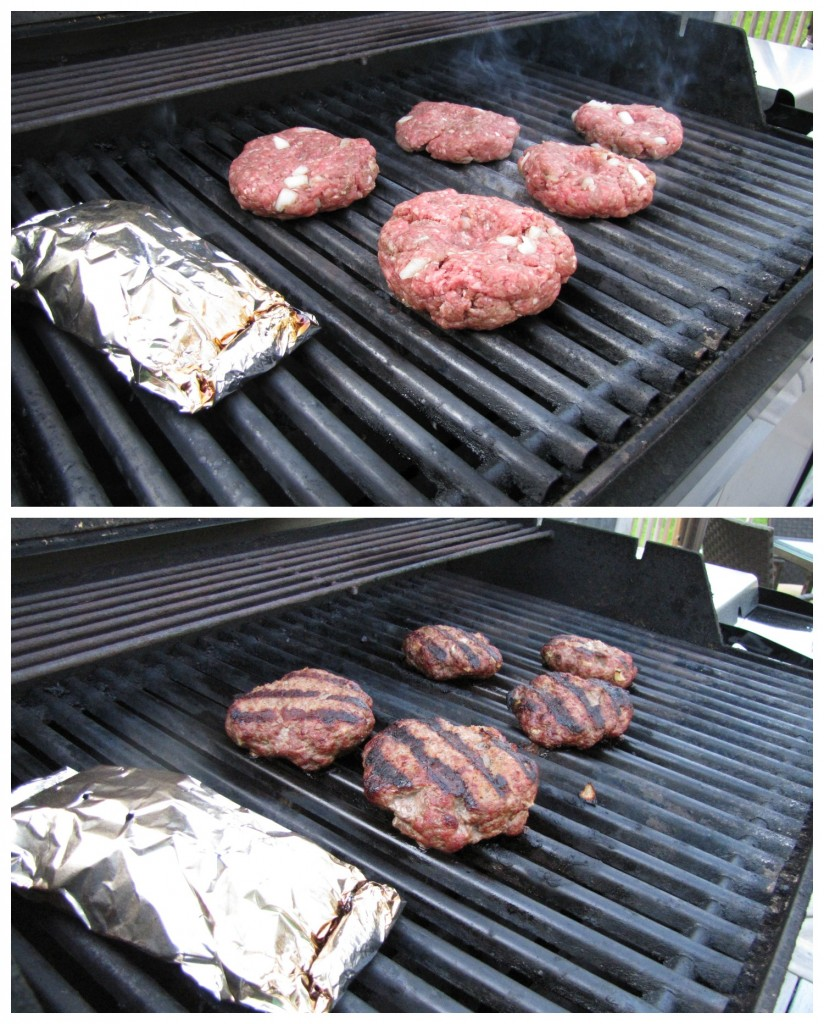 Smoking Burgers on the Grill