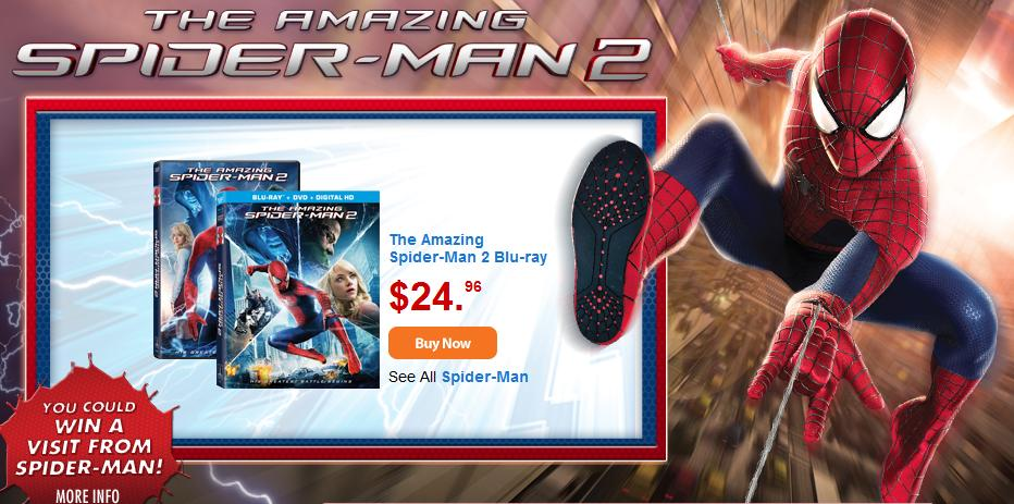 Spiderman 2 at Walmart