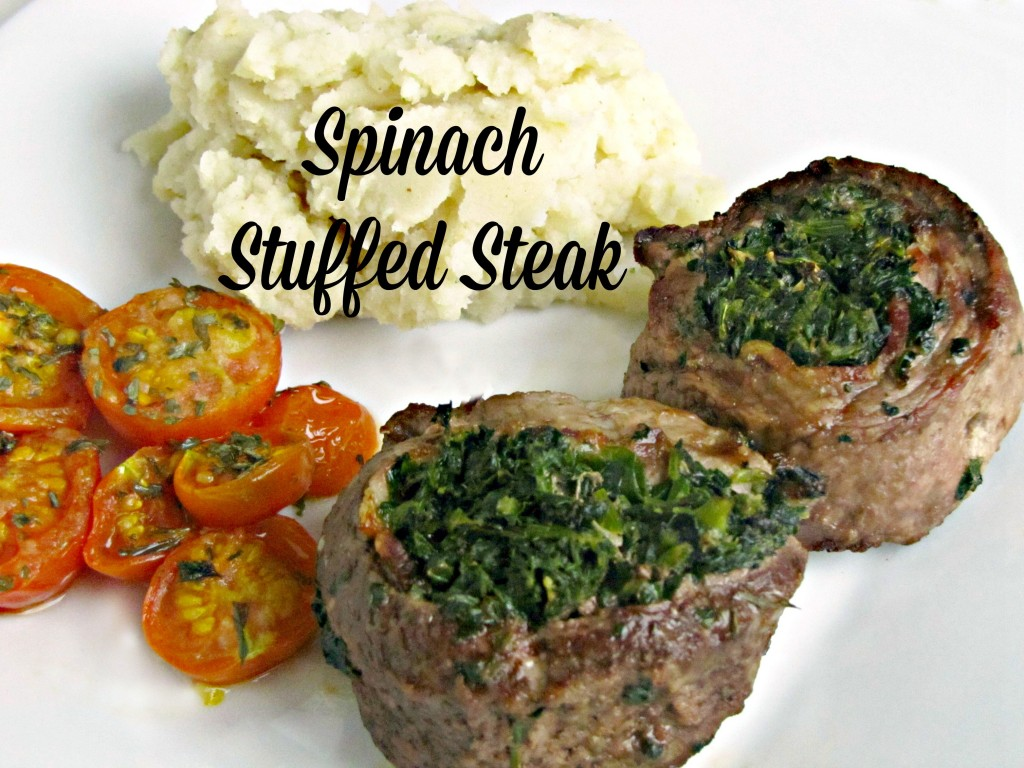 Spinach Stuffed Steak