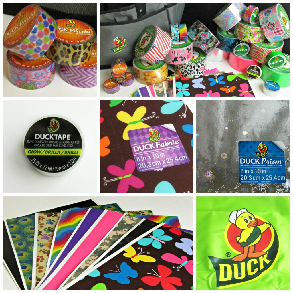 Tons of Fun Duck Tape Products are available at Walmart