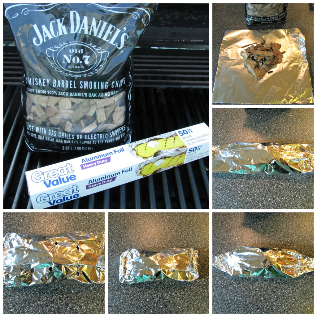 Using Jack Daniels Smoking Chips on a Gas Grill