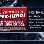 You could be a Hero!  Enter to win for your school!