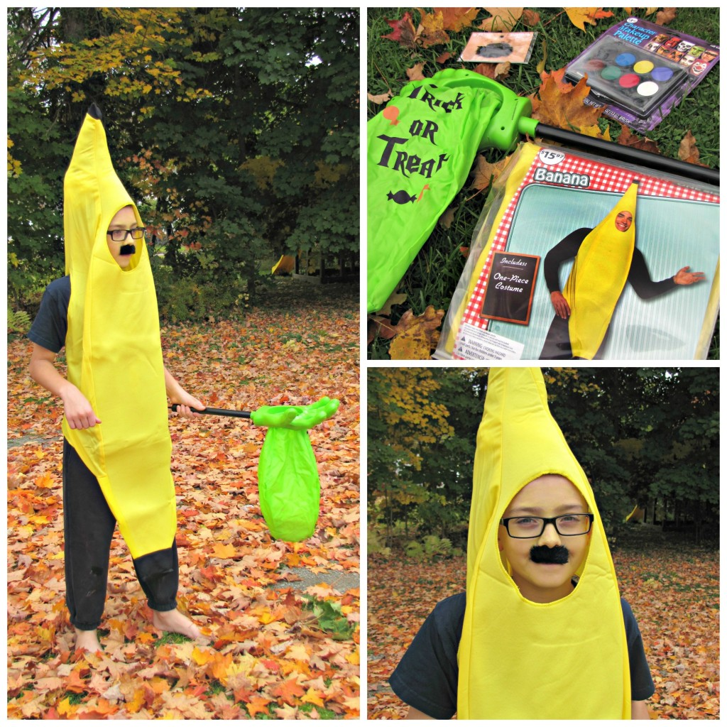 Banana Boy -- Halloween Costume from Walmart  sc 1 st  Frugal Upstate & Halloween Costumes at Walmart! - Frugal Upstate