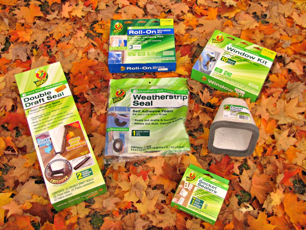 Keep out the cold with Duck brand weather sealing from Walmart