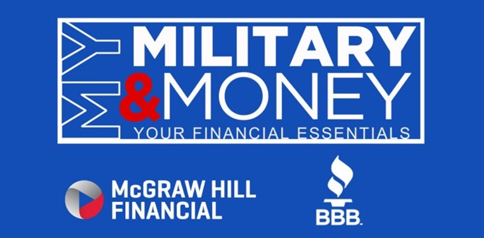 My Military & Money image with logos