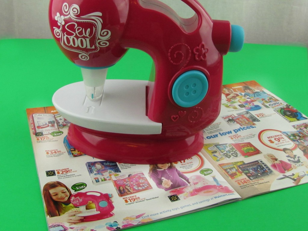 Chosen by Kids - Sew Cool Threadless Sewing Machine from Walmart
