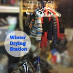 Create a winter drying station with items from Walmart