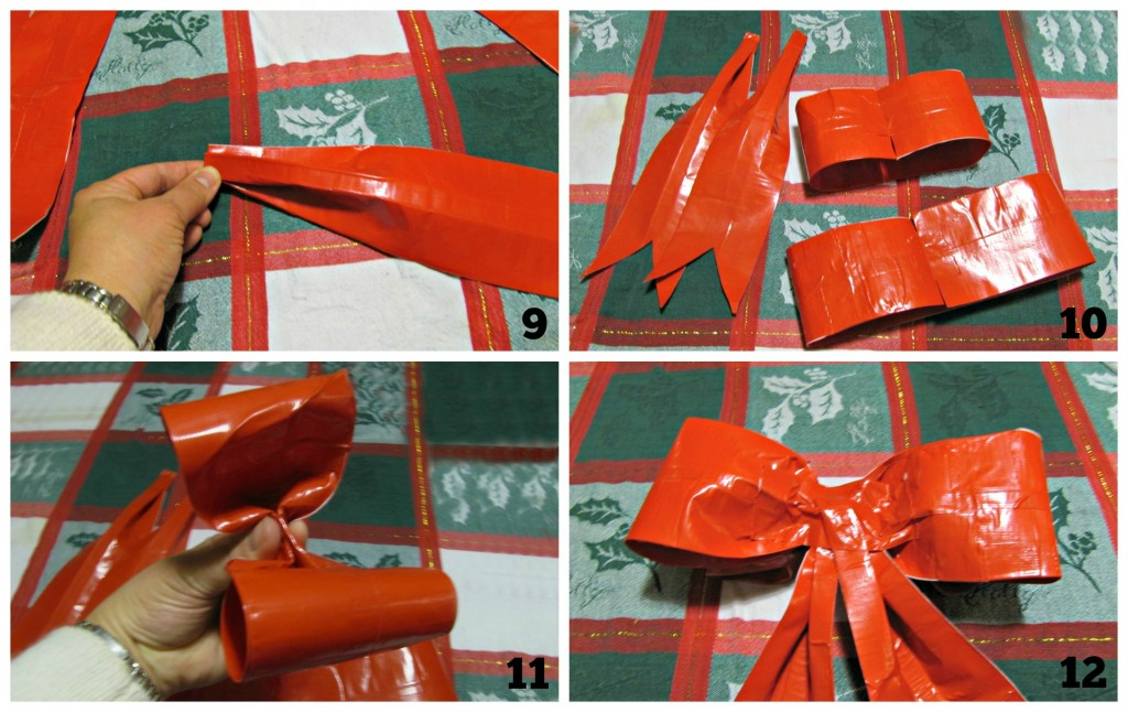 DIY How to Make a Duck Tape Holiday Bow
