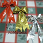 Duck Tape Holiday Bow Tutorial