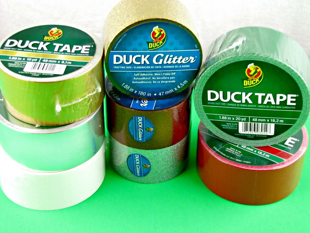 Duck Tape in Christmas Colors from Walmart