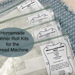 Homemade Dinner Roll Kits for the Breadmachine