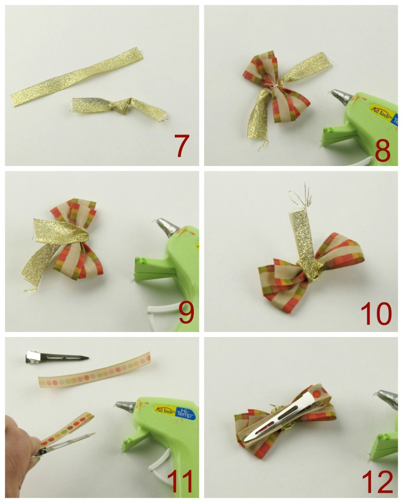 How to Make Holiday Bows with ribbon from Walmart (part II)