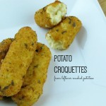 Potato Croquettes (from leftover potatoes!)