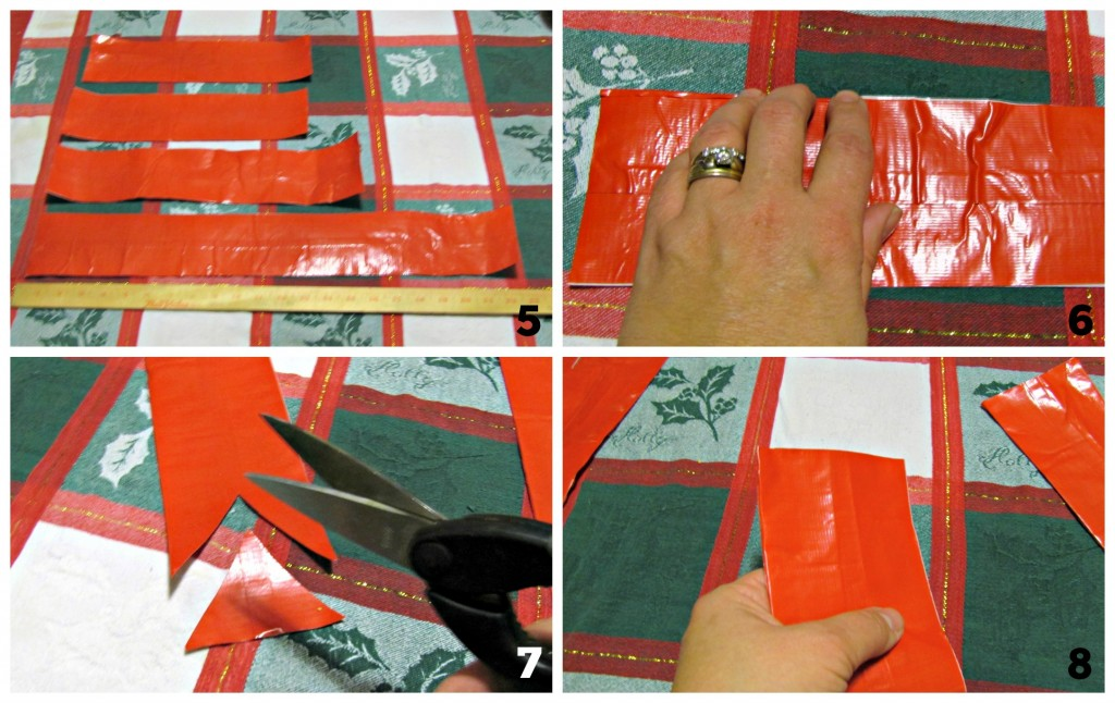 How to Make a Duck Tape Holiday Bow with Walmart