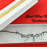 How to Make a Bent Wire Name Necklace