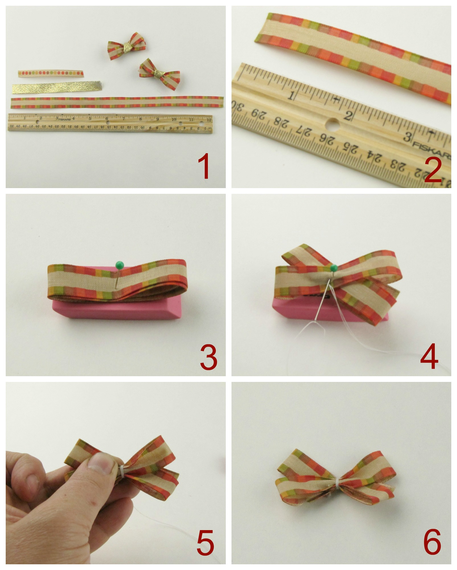 how to make holiday bows with ribbon from walmart